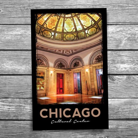 194-Chicago-Cultural-Center-Postcard-Front