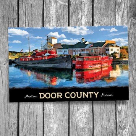 195-Door-County-Maritime-Museum-Postcard