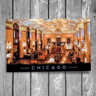 Chicago Palmer House Postcard