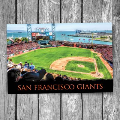 San Francisco Giants AT&T Park Postcard