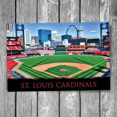 St Louis Cardinals Busch Stadium Postcard