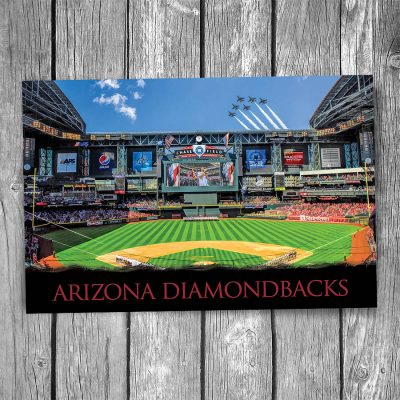 Arizona Diamondbacks Chase Field Ballpark Postcard