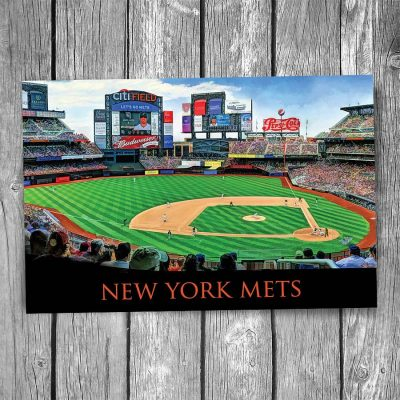 New York Mets Citi Field Ballpark Postcard