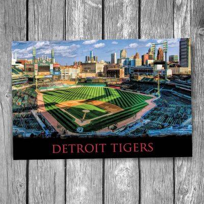 Detroit Tigers Comerica Park Postcard