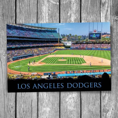 Los Angeles Dodgers Dodger Stadium Postcard