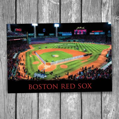 Boston Red Sox Fenway Park Postcard