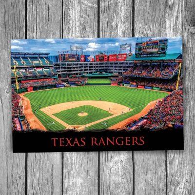 Texas Rangers Globe Life Park Postcard