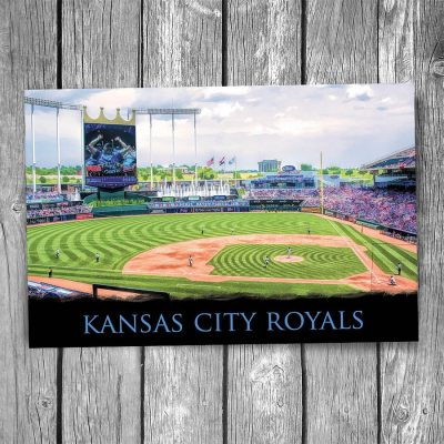 Kansas City Royals Kauffman Stadium Postcard