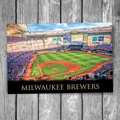 Milwaukee Brewers MIller Park Postcard