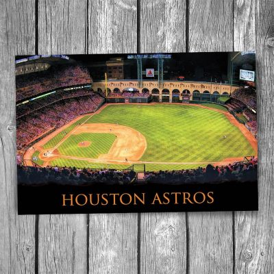 Houston Astros Minute Maid Park Postcard