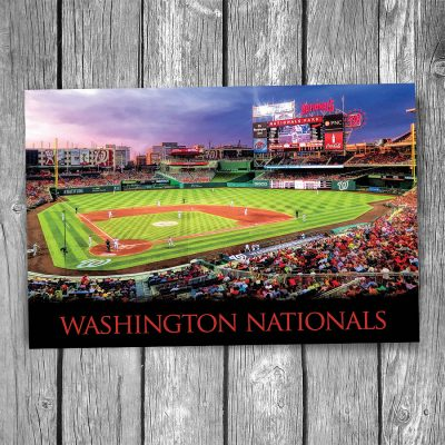 Washington Nationals at Nationals Park Postcard