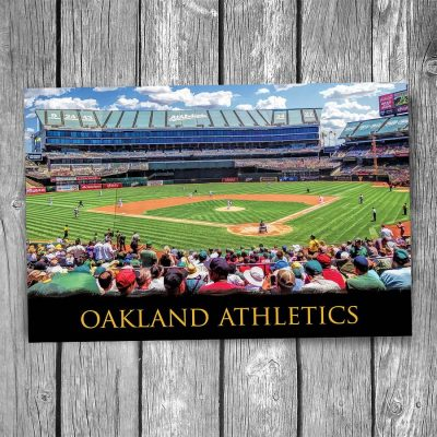 Oakland Athletics at Oakland Coliseum Postcard