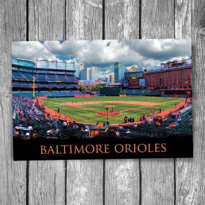 Baltimore Orioles Oriole Park Ballpark Postcard