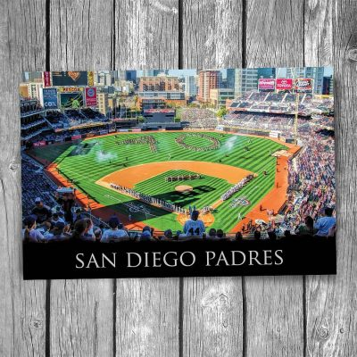 San Diego Padres Petco Park Postcard