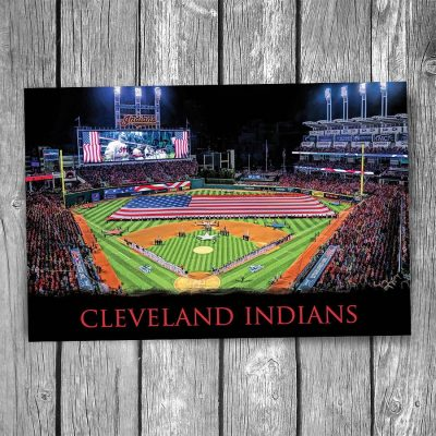 Cleveland Indians Progressive Field Ballpark Postcard