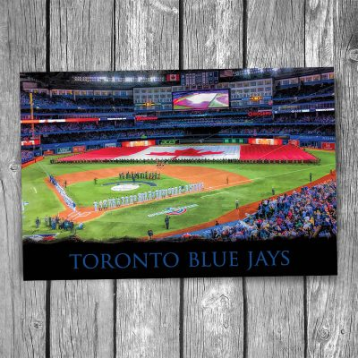 Toronto Blue Jays Rogers Centre Ballpark Postcard