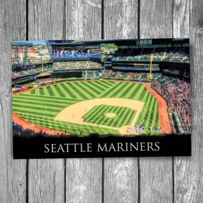 Seattle Mariners Safeco Field Ballpark Postcard