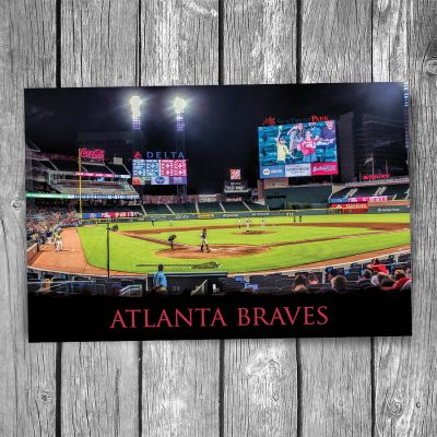 Atlanta Braves SunTrust Park Ballpark Postcard