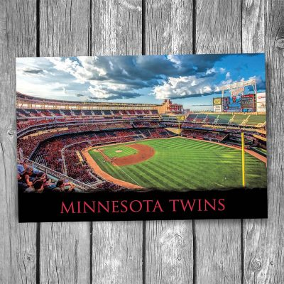 Minnesota Twins Target Field Ballpark Postcard