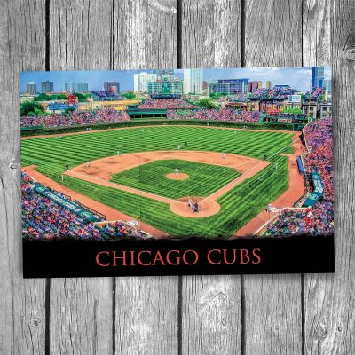 Chicago Cubs Wrigley Field Ballpark Postcard