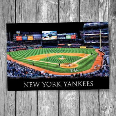 New York Yankees at Yankee Stadium Postcard
