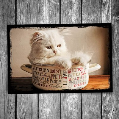 Soup Bowl Cat Postcard