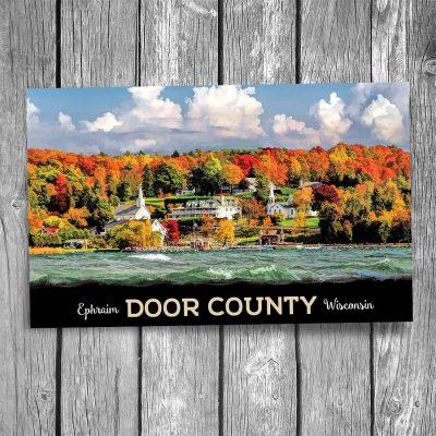 Door County Ephraim Autumn Shores Postcard