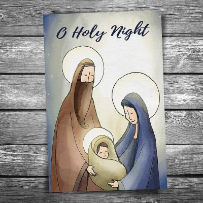 Christmas Nativity Postcard