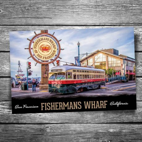 San Francisco Fisherman's Wharf Postcard