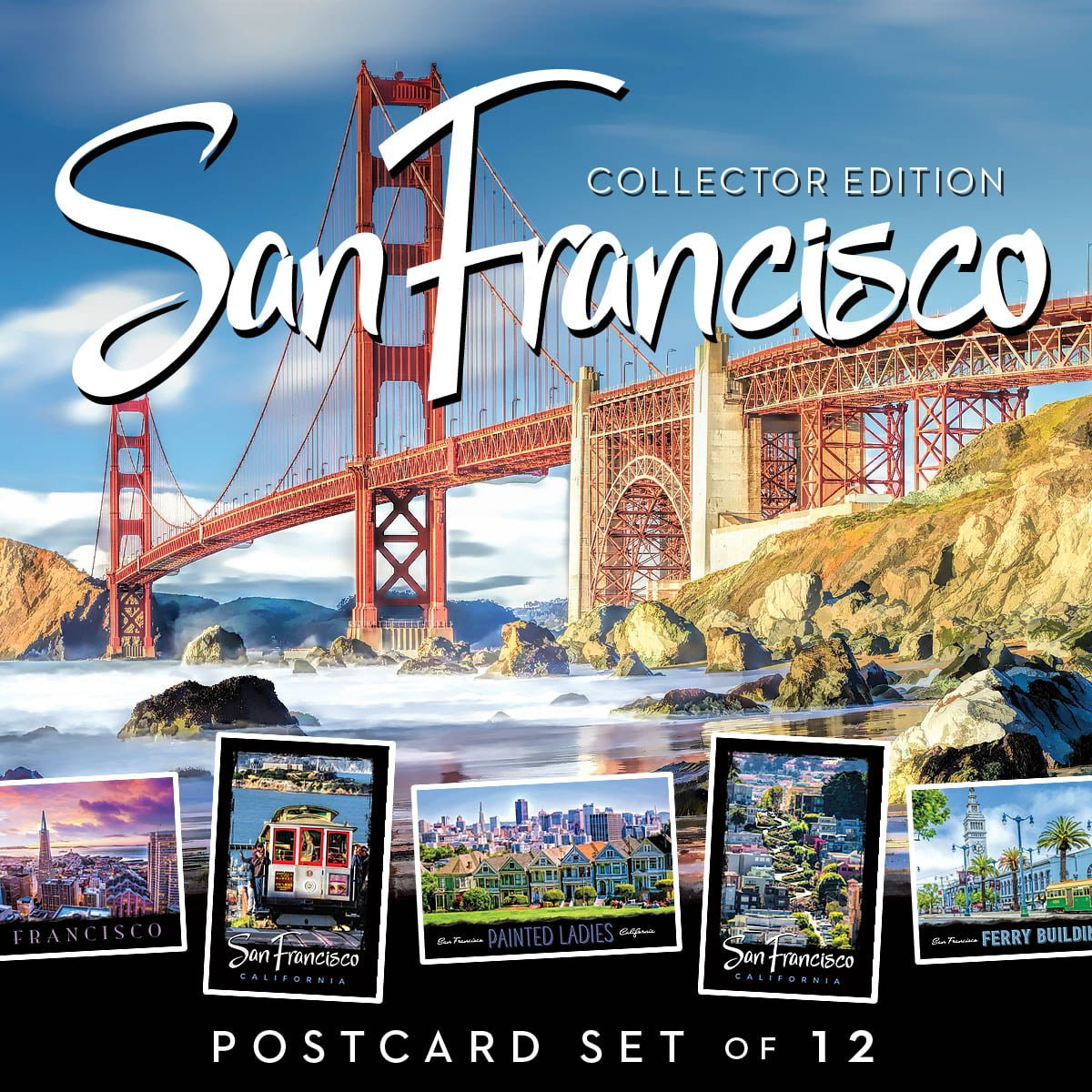 Cars For Sale Usa: San Francisco Postcards