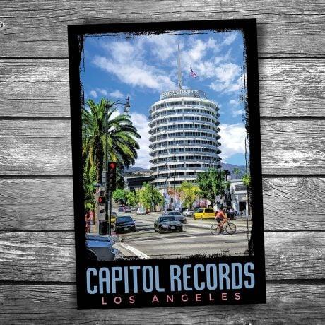 Capitol Records Postcard