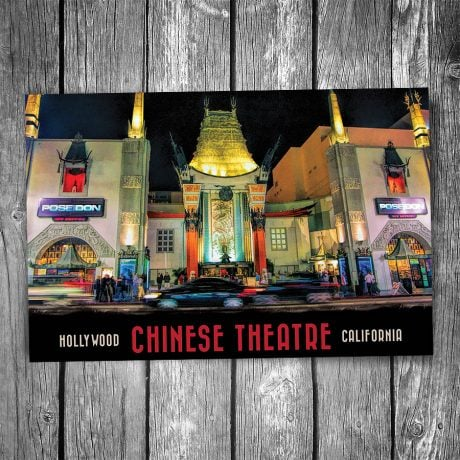 Chinese Theatre Postcard