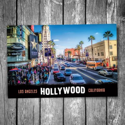 Downtown Hollywood Postcard