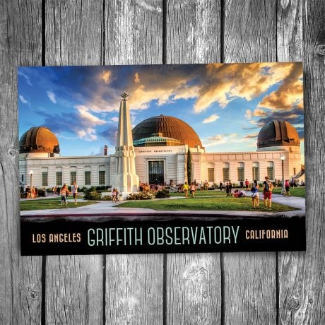 Griffith Observatory Postcard