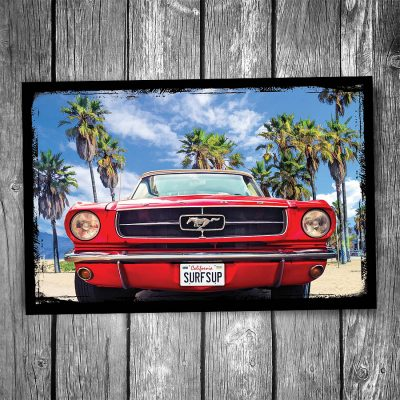 Ford Mustang Postcard