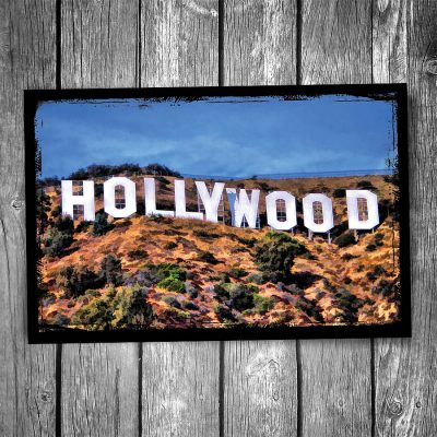 Hollywood Sign Postcard