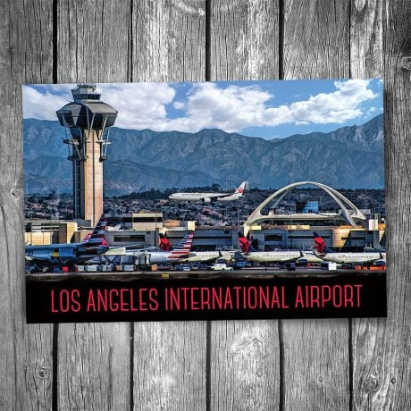 Los Angeles International Airport Postcard
