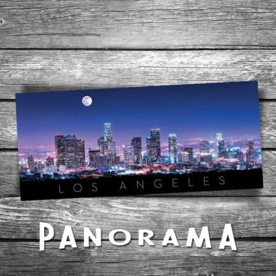 Los Angeles Panorama Postcard