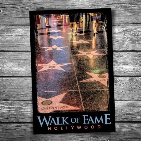Walk of Fame Postcard