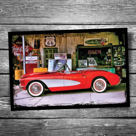 Chevrolet Corvette Postcard