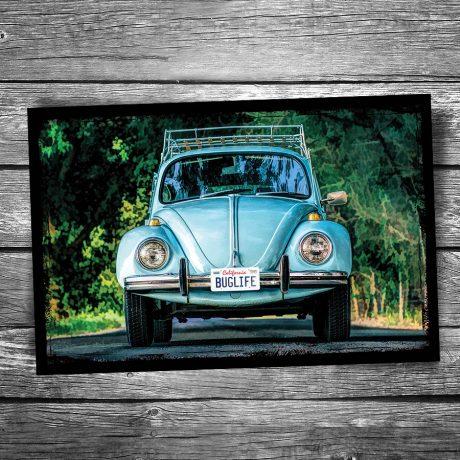 Volkswagen Beetle Postcard