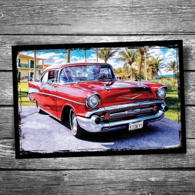 1957 Chevy Postcard
