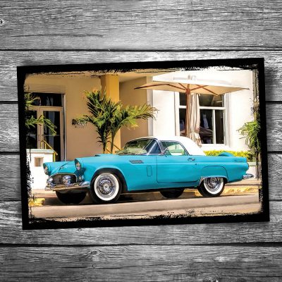 Ford Thunderbird Postcard