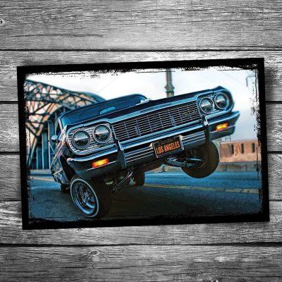 Chevrolet Lowrider Postcard
