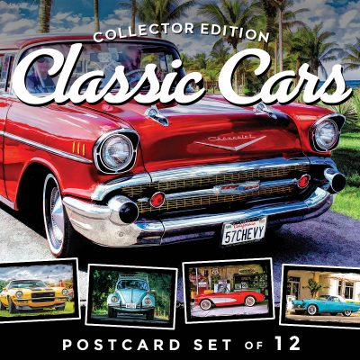 Classic Car Postcards | Set of 12