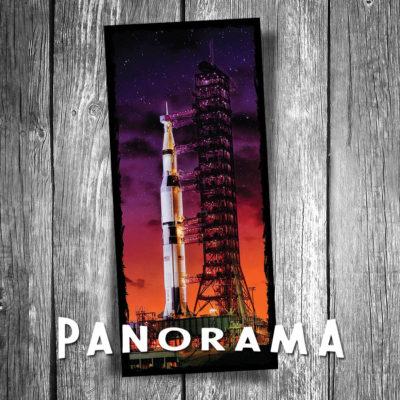 Saturn V Panorama Postcard