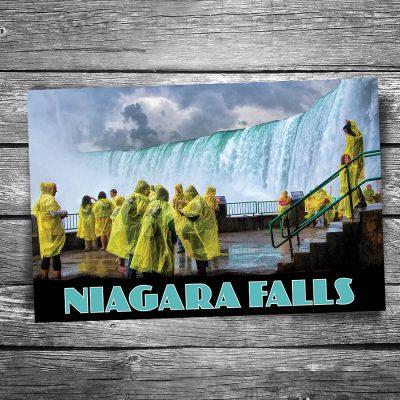 Niagara Falls Raincoats Postcard