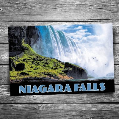 Below Niagara Falls Postcard