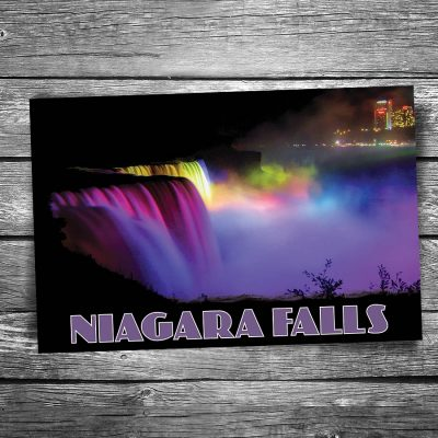 Niagara Falls in Lights Postcard