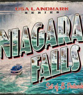 Niagara Falls Postcards | Set of 8